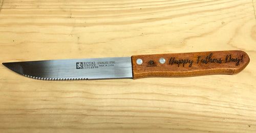 Personalized Steak Knife - uncommon-etching