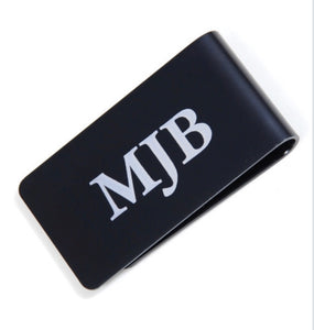 Personalized Anodized Aluminum Money Clip Wallet - uncommon-etching