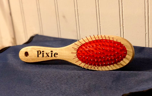 Custom Engraved Pet Brush Personalized l - uncommon-etching
