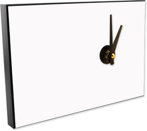 "Full-Color Offset Custom Clock 5-1/2"" X 8"""