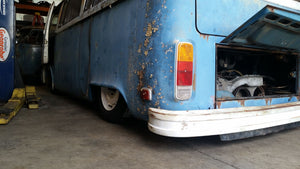 Part 2 - 1975 Bay Window Bus hydraulic suspension build by Demon Motorsports