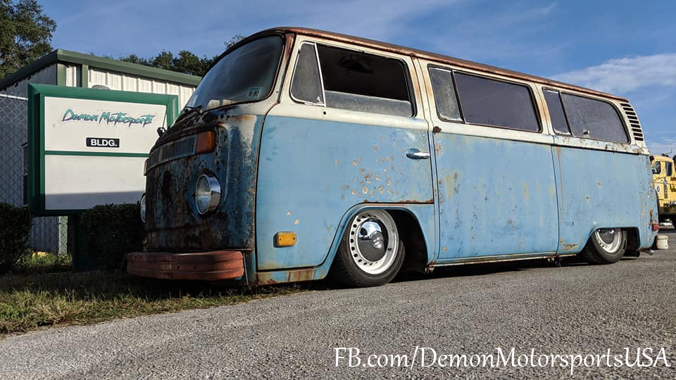 Part 3 Grand finale 1975 Bay Window Bus Hydraulic Suspension Build By Demon Motorsports,