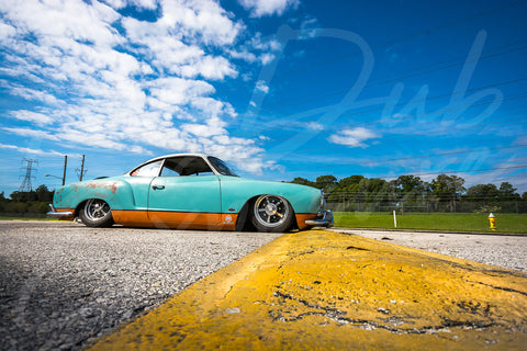 Gulf Ghia VS Speed hump - Original Print