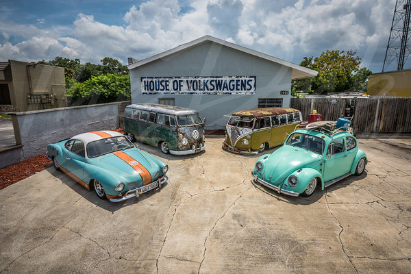 The House of Volkswagen - Original Print