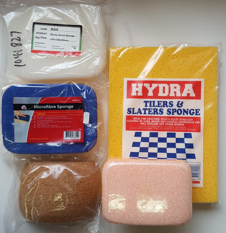 FLOATS AND SPONGES