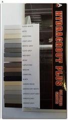 RLA Group grout colour chart