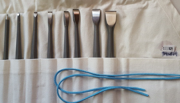 Chisel set Guillet France 7 pieces+scribing Fort #1026829