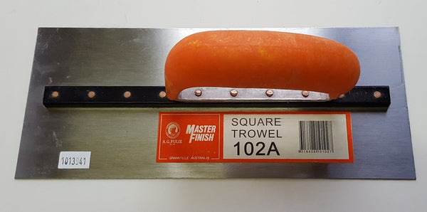 PLASTERES AND CONCRETE TROWELS