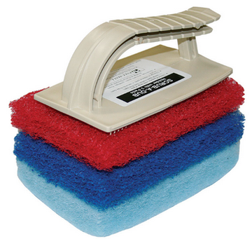 CLEANER  GLOMESH SCRUBBER AND PADS