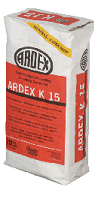 Ardex A45 Mortar repair .