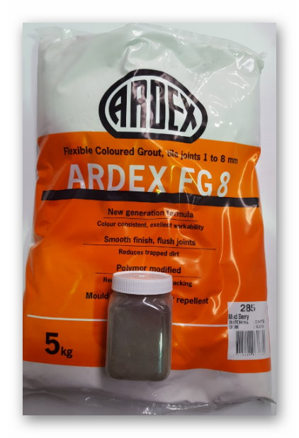 ARDEX GROUT 200 grams SAMPLE