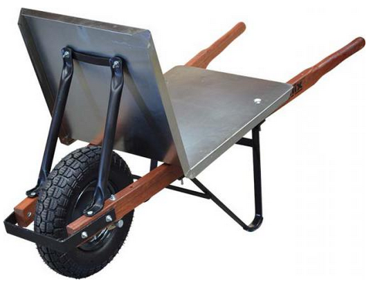 WHEEL BARROW FLAT TOP BRICKIES FLAT FREE WHEEL W1100