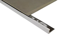 Tile Trim Perforated Brass Chrome Plated Angle for Tiling 3 mts