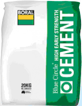 Cement Low Heat 20 kgs Boral