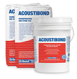 ACOUSTIBOND SOUND PROOF TILE ADHESIVE (available only by special order)