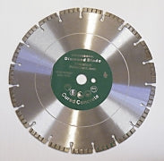 "Diamond disc for green concrete 14"" or 16"" for cured concrete"