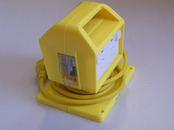 Electric SAFETY POWER OUTLET PORTABLE 4 PLUG