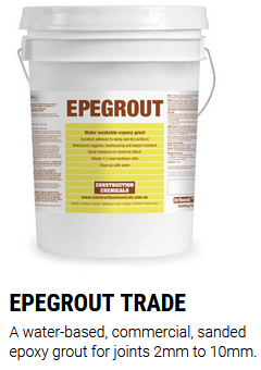 Epegrout Epoxy Grout Commercial 6 Kgs Powder +A+B Liquids