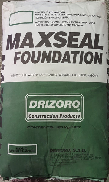 DRIZORO MAXSEAL FUNDATION 14 KGS, AND 25 KGS