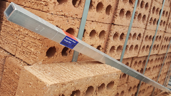 Brickies gauging rod 1200x20x20mm .