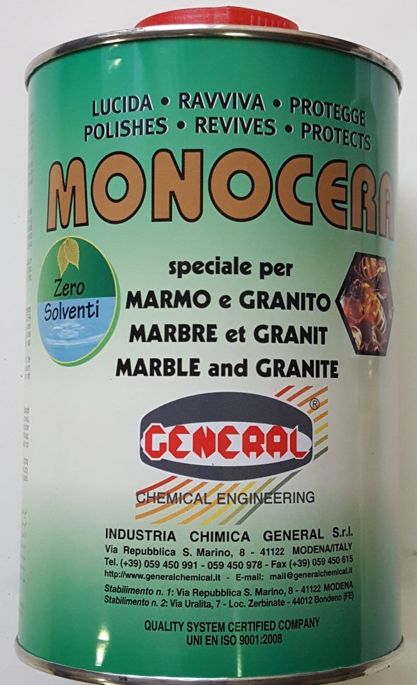 MARBLE WAX MONOCERA LIQUID 1 lt . (no solvent) post safe
