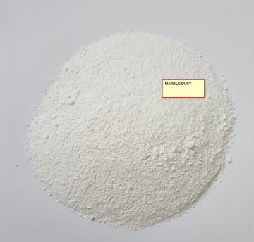 MARBLE DUST WHITE (.3 to .9mm) price perr kg