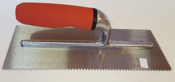TROWEL FOR ADHESIVE V NOTCH