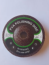 PVA wheels for dry polishing 100mm