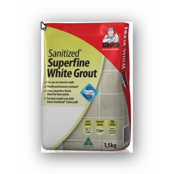 DAVCO GROUT SUPER FINE WHITE