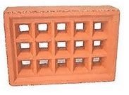BRICK VENT CLAY normal type