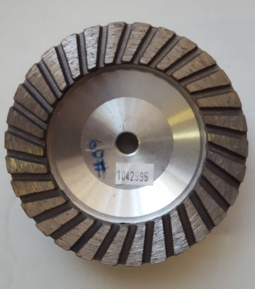 DIAMOND ALUMINIUM GRINDING WHEEL