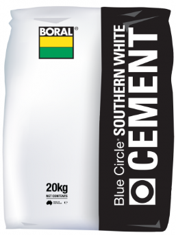 Cement white 20 kgs Boral