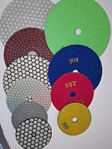 POLISHING PAD DRY 100MM