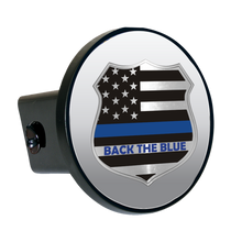 Load image into Gallery viewer, Flag Badge Back The Blue-Item #1223