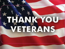 Load image into Gallery viewer, Thank You Veterans-Item #1229