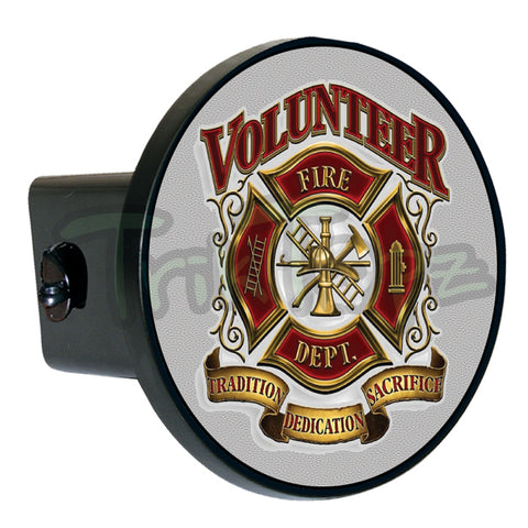 Volunteer Fire Dept Hitch Cover