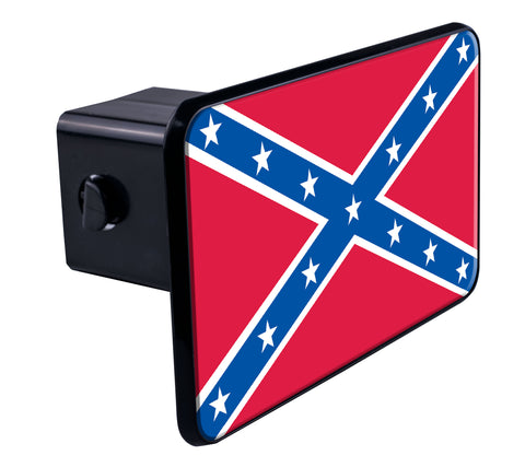 Rebel Flag Hitch Cover