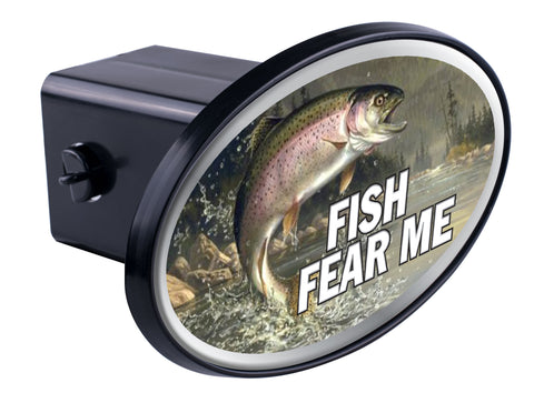 Fish Fear Me Hitch Cover