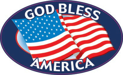 God Bless America Flag-Item #3526