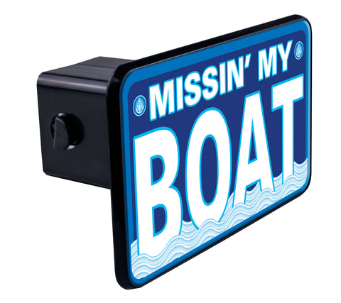 Miss'n my Boat Hitch Cover