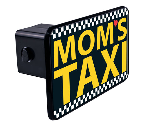 Mom's Taxi Hitch Cover