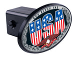God Bless The USA Hitch Cover
