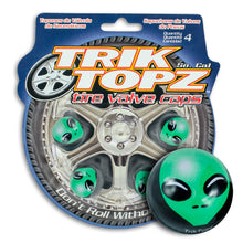Load image into Gallery viewer, Alien Valve Cap Green (4 Pack)