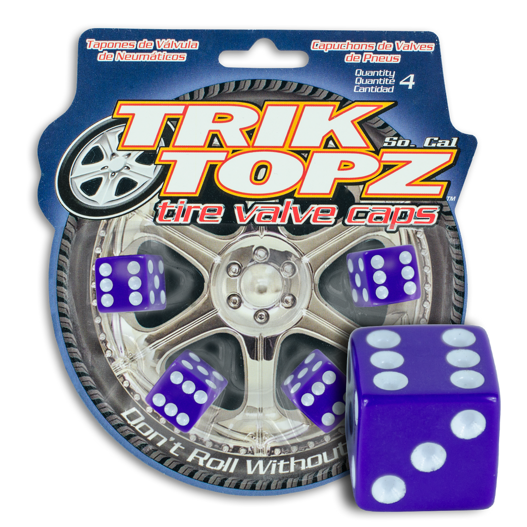 Dice Purple (4 Pack)- Item #8006
