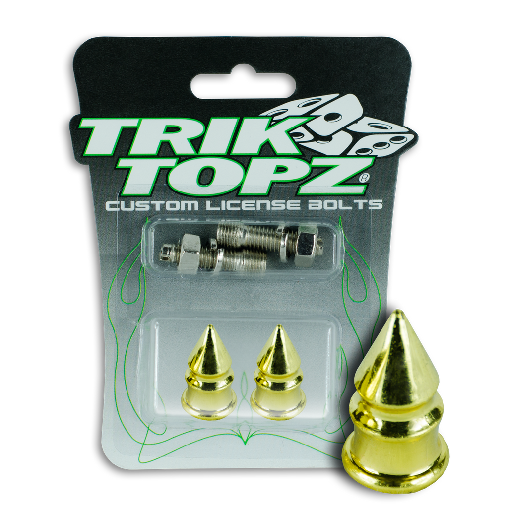 Spike License Bolt Gold