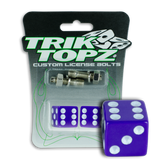 Dice License Bolt Purple
