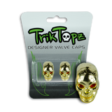 Skull Head Gold (2 Pack)-Item #8634