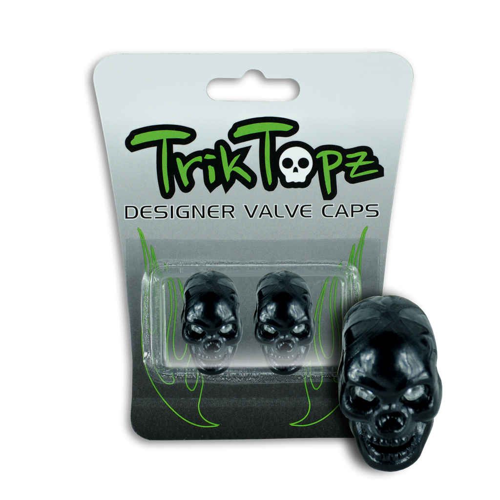 Skull Head Black (2 Pack)-Item #8631
