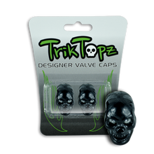 Load image into Gallery viewer, Skull Head Black (2 Pack)-Item #8631