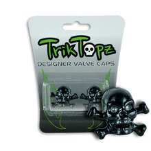 Load image into Gallery viewer, Skull & Bones Black (2 Pack)-Item #8635